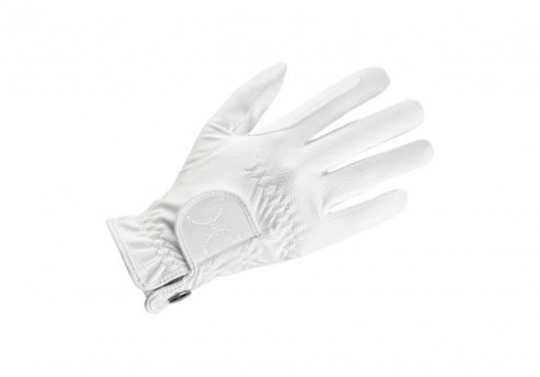 UVEX 騎馬專用手套 (鑽飾/白色)