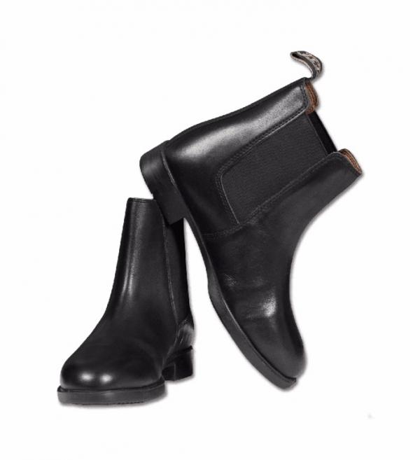 ELT 鬆緊短筒皮靴 (黑色/28-42)