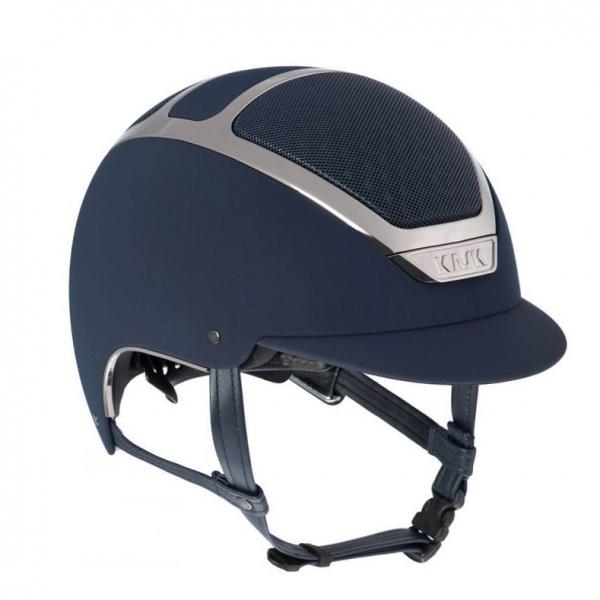 KASK 透氣騎士帽 (藍色/銀框/S/55/56)