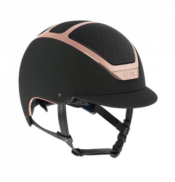 KASK 透氣騎士帽 (黑色/玫瑰金框/M/57/58/59)