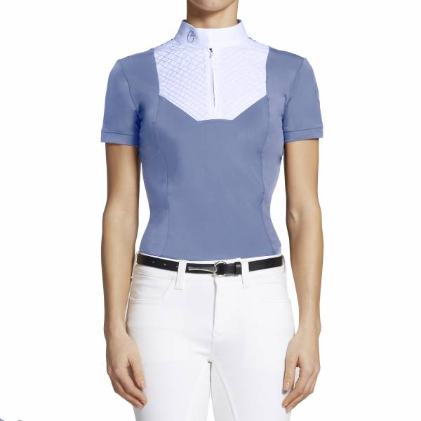 VESTRUM 女用比賽衫 (霧藍色/M)