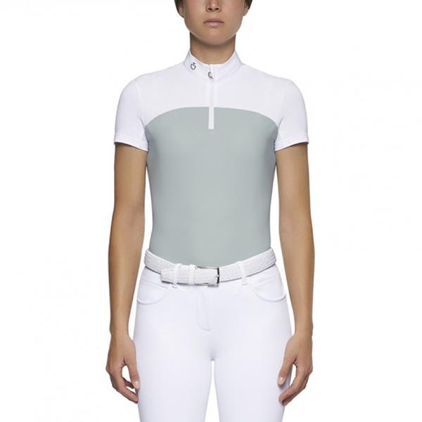 CAVALLERIA TOSCANA 女用比賽衫 (淺綠白/XS/S/M/L)