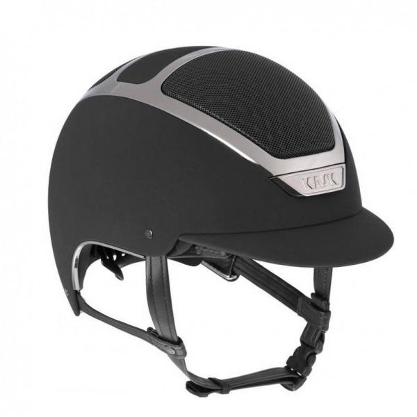 KASK 透氣騎士帽 (黑色/銀框/S/55/56)