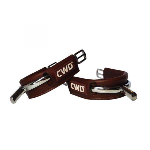 CWD 馬刺皮護套 (深棕色)