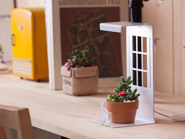 Mini Garden LED迷你植物燈/Kitten 迷你植物燈,mini garden,植物小管家,室內種植,禮物,