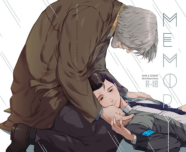 【PRE-SALE!】《Memory》(English / Chinese version)  /Detroit : become human Hankcon Comic BY:뜰액 底特律:變人 漢康 漫本 BY:뜰액