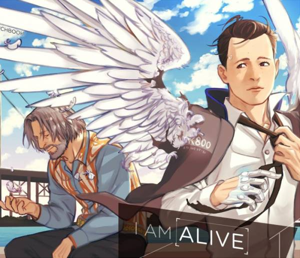 《Alive》 /底特律:變人 漢康 圖本 BY:Sayatsugu(鞘繼) 底特律:變人 漢康 圖本 BY:Sayatsugu(鞘繼)
