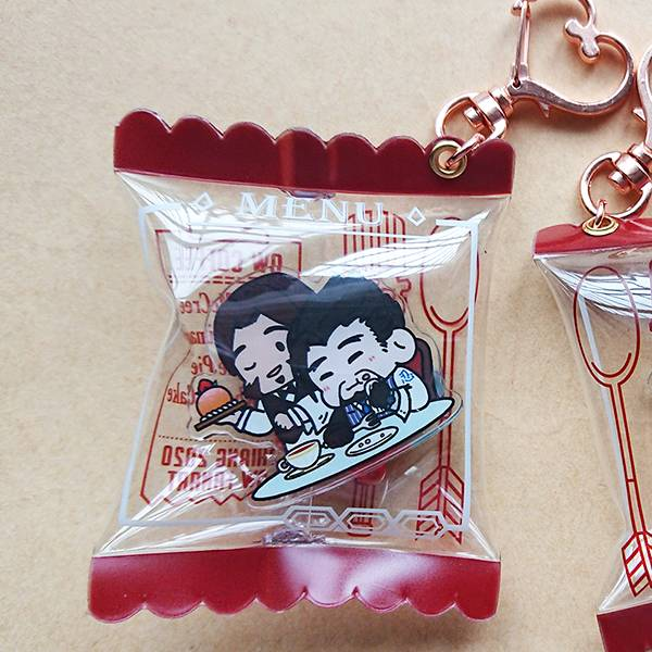 Mchanzo Candy Pack Charm /OVERWATCH Mchanzo Goods BY:阿三 OVERWATCH R76 周邊 BY:阿三