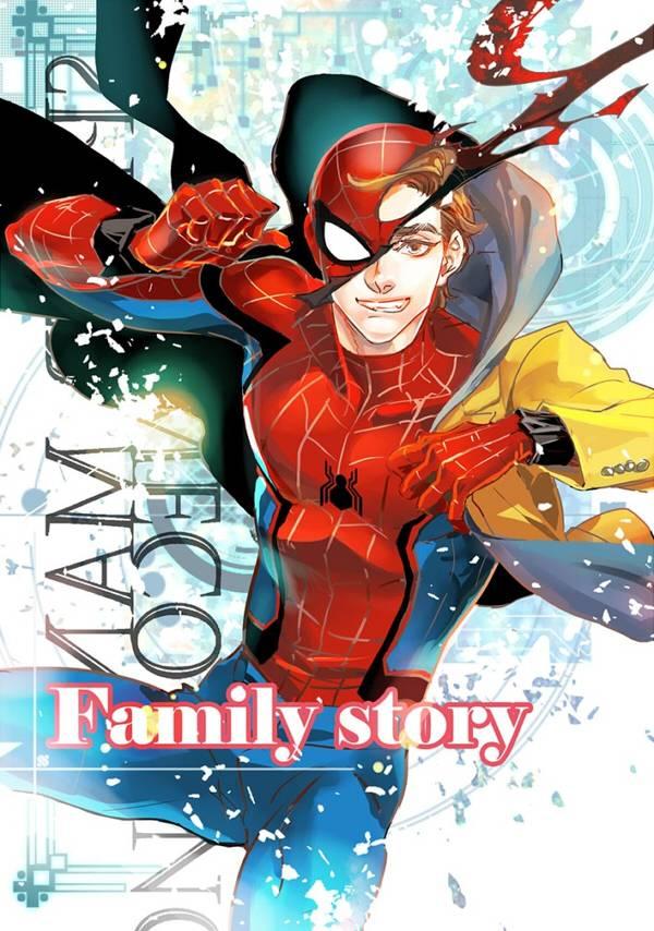 《Family story 家庭瑣事》 /Marvel Spideypool Comic BY:雷思利