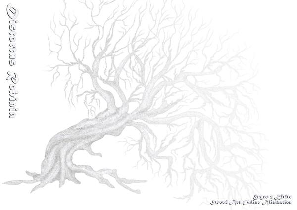 《Distortus Robinia》 /刀劍神域 尤吉歐X桐人 文本 BY:蘭珵翛(少爺啾啾叫)
