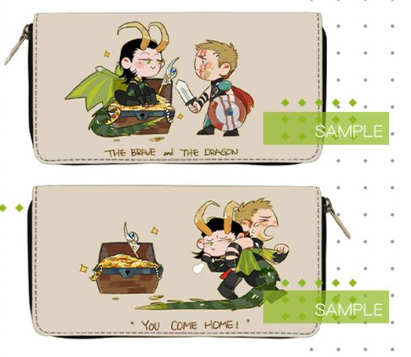 Thorki Wallet /Thor Thorki Peripherals BY:呱村鼠糖(Neverland) 雷神索爾 錘基 周邊 BY:呱村鼠糖(Neverland)