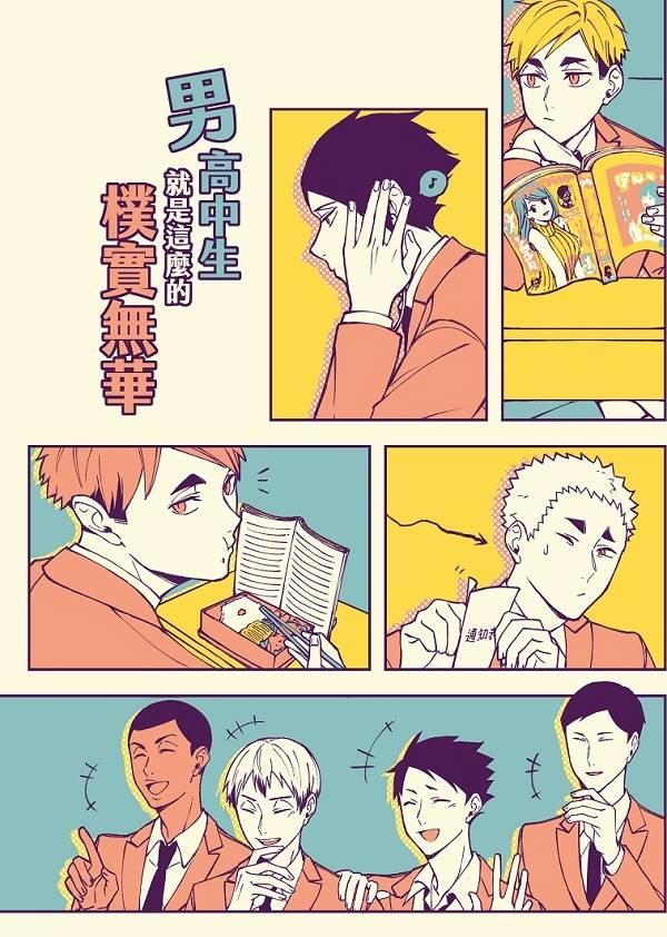 《男高中生就是這麼的樸實無華》 /排球少年 漫本 BY:少玹(光陰流轉)