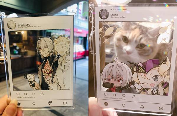 Salieri & Mozart Instagram Acrylic Charms Set /Fate/Grand Order Peripherals BY:STAR影法師/貓魚 Fate/Grand Order 周邊 BY:STAR影法師