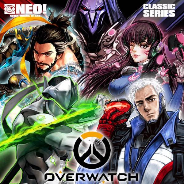 OVERWATCH Character Wallet /OVERWATCH Peripherals BY:NEO OVERWATCH 周邊 BY:NEO