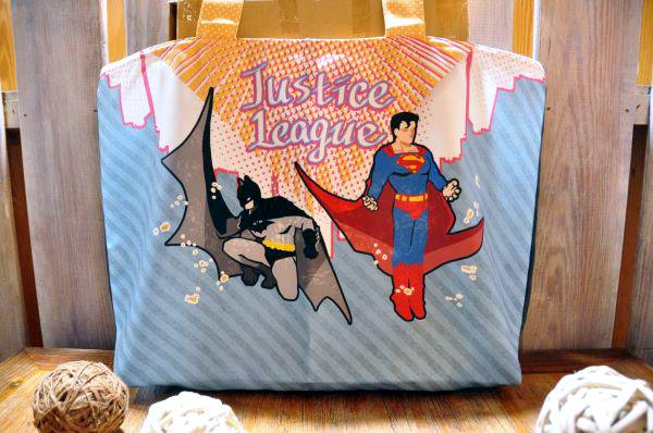 Superbat Tote Bag /DC Comics Superbat Goods BY:戀戀(日寢社)