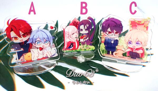 DUO63 2021 Original Acrylic Stands /Original Jade/Azul Goods BY:蝶羽攸(DUO63*)