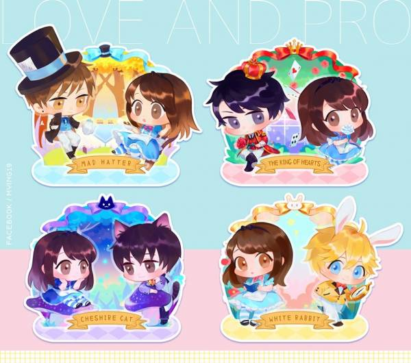 Mr Love Acrylic Stands /Mr Love: Queen's Choice Peripherals BY:米櫻 戀與製作人 周邊 BY:米櫻