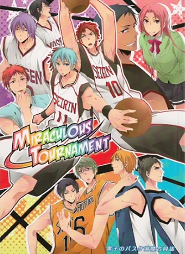 【二手書】《MIRACULOUS TOURNAMENT 》 /黑子的籃球 中文 漫本 ※6
