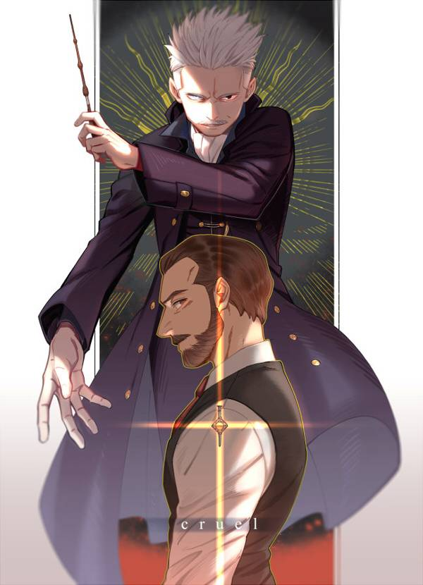 《Cruel》 /Fantastic Beasts and Where to Find Them Grindeldore Comic BY:澈(CYANCROWN) 怪獸與牠們的產地 GGAD 漫本 BY:澈(CYANCROWN)