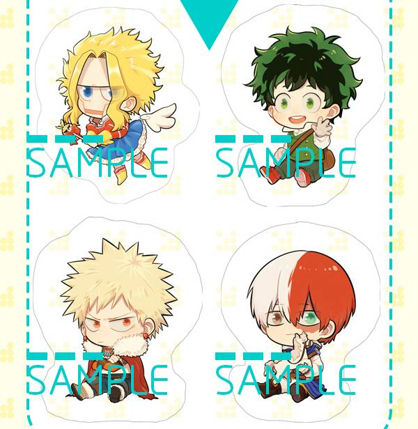 MHA Characters Acrylic stand board  /My Hero Academia Peripherals BY:誒皮(Neverland) 我的英雄學院 周邊 BY:誒皮(Neverland)