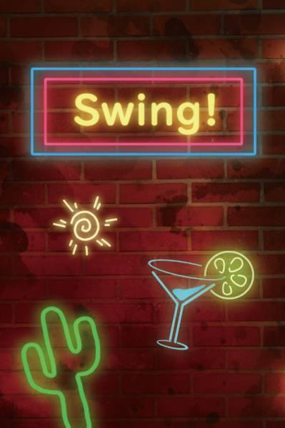 《Swing!》 /J禁 剛健 文本 BY:松瀨光(實質剛健) J禁 剛健 文本 BY:松瀨光(實質剛健)