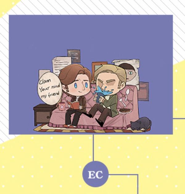 EC婚後生活仿皮收納包 /X-MEN EC 周邊 BY:戈爾巴喬荒(Neverland)