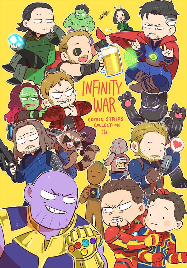 《Infinity War》(English version) /MARVEL Comic BY:澈(CYANCROWN) MARVEL 漫本 BY:澈(CYANCROWN)