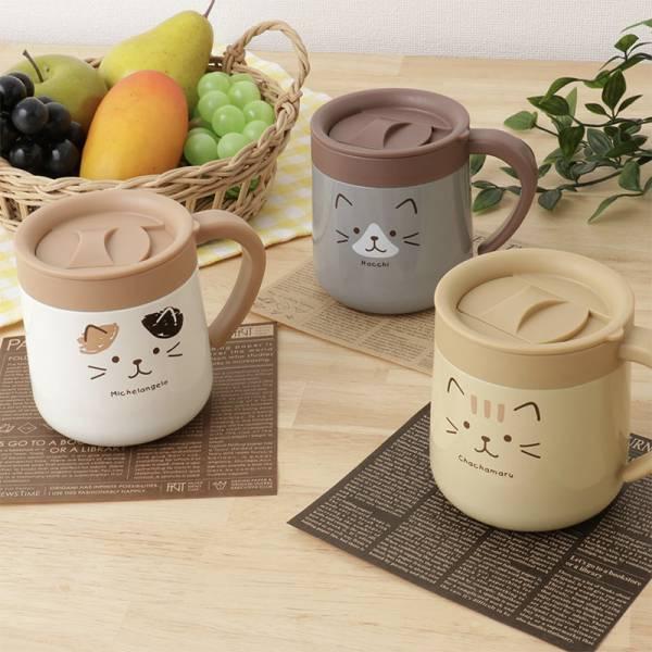 【再喝一杯可愛喵】限量 日本進口Fuku不銹鋼保溫杯