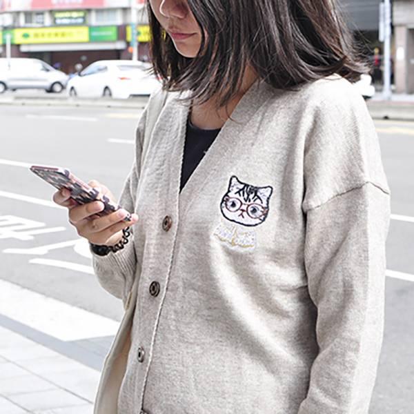 【貓奴的寒冬救星】針織外套