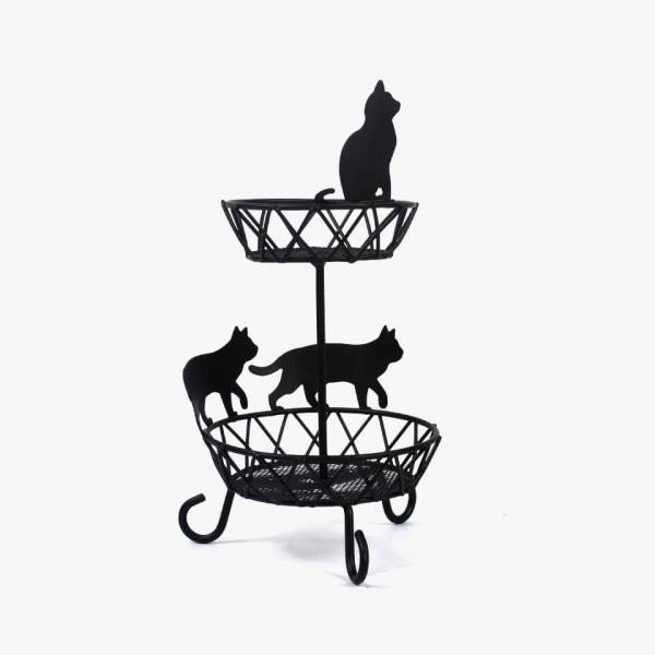 【黑貓的守護】飾品小物架