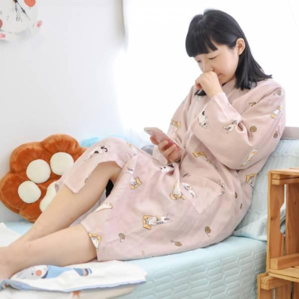 【睡覺也要有喵陪】日式和服小貓浴衣睡袍