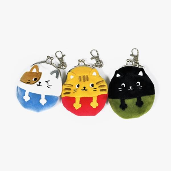 日本進口【麥克貓集硬幣】零錢包