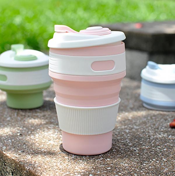 【環保杯也能伸縮自如】FoldCup隨行折疊杯