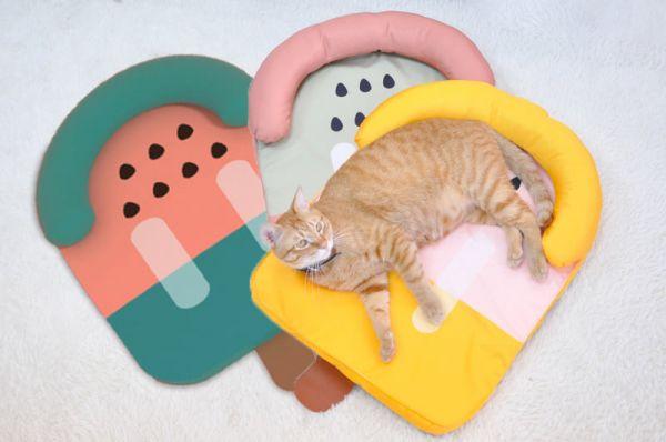 【來一根喵咪的冰】水果冰棒貓窩涼墊