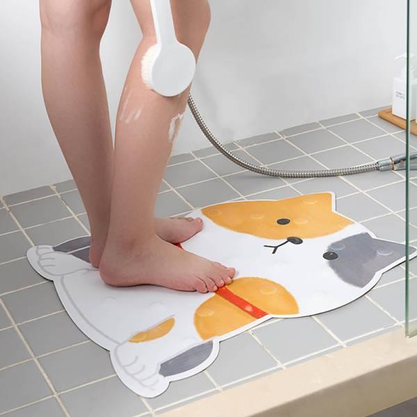 【防滑的貓兒狗子】浴室地墊 浴室地墊,地墊,防滑,防摔