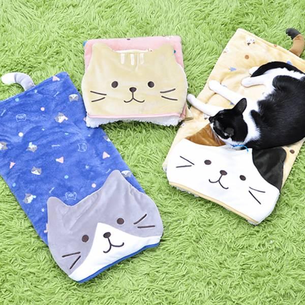 【 多用假面貓兒】多用毛毯(三款各1免運)