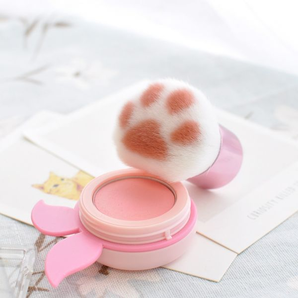 【柔柔喵掌抹一抹】蘑菇頭腮紅刷 蘑菇頭、腮紅刷、化妝刷、貓掌