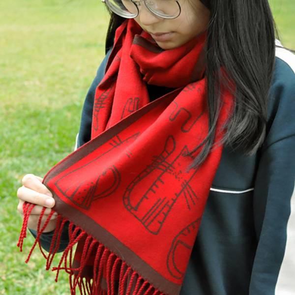 【圍巾也是披肩】秋冬披肩 貓咪圍巾,貓咪披肩,可愛大圍巾