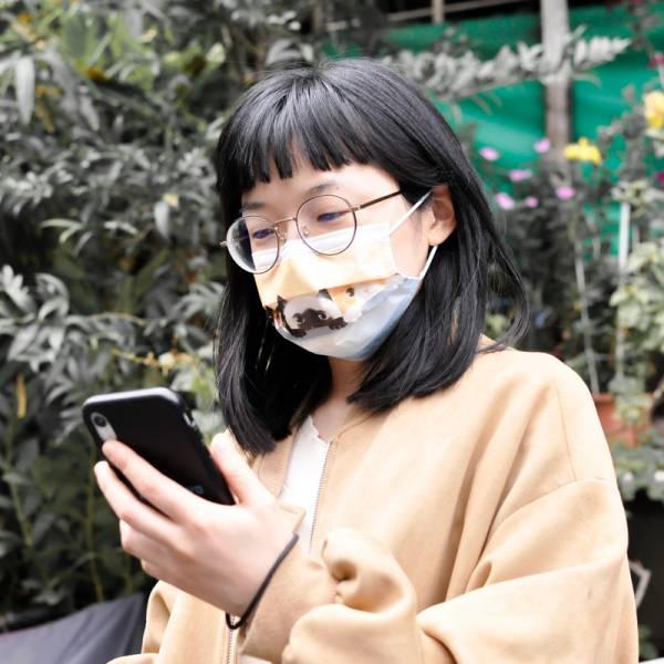 *限量【貓奴就戴這一款】防護口罩 台灣製造 5入一包