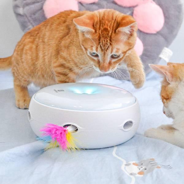 【主子的好玩伴】甜甜圈智能逗貓器
