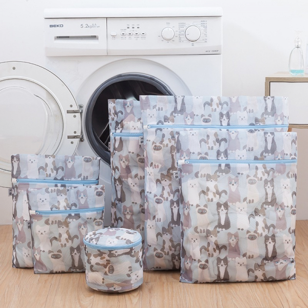 【喵喵罩你】洗衣袋-一組6件