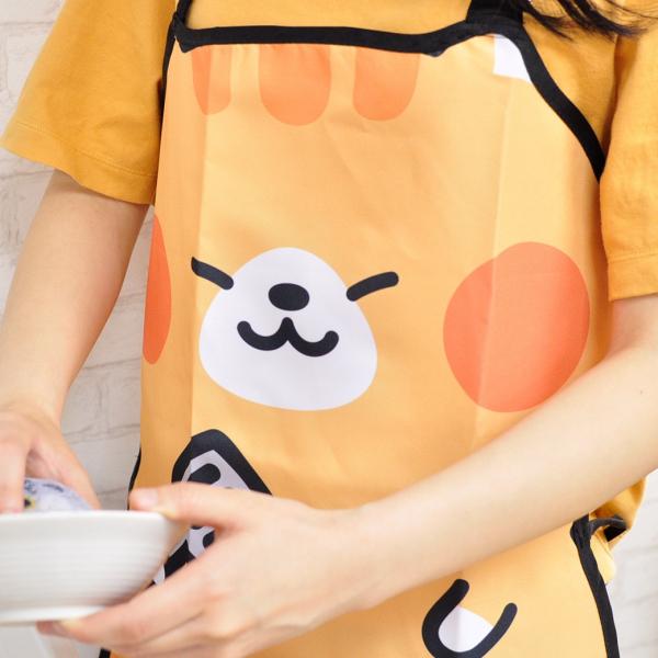 【貪吃橘貓來做菜】圍裙