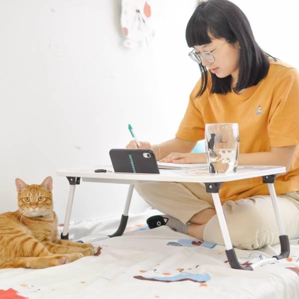 【懶人的一天】多功能摺疊懶人桌