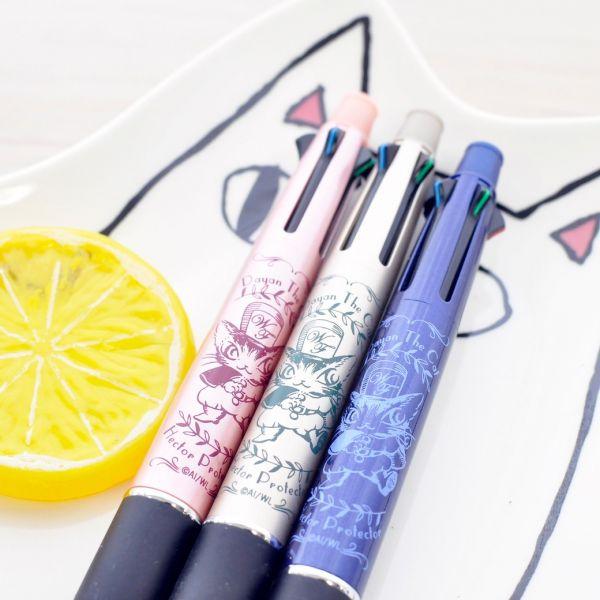 【達洋貓超好寫多色筆】達洋貓四色筆