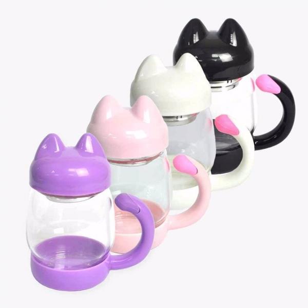 *【貓兒肚裡有壺茶】濾茶壺