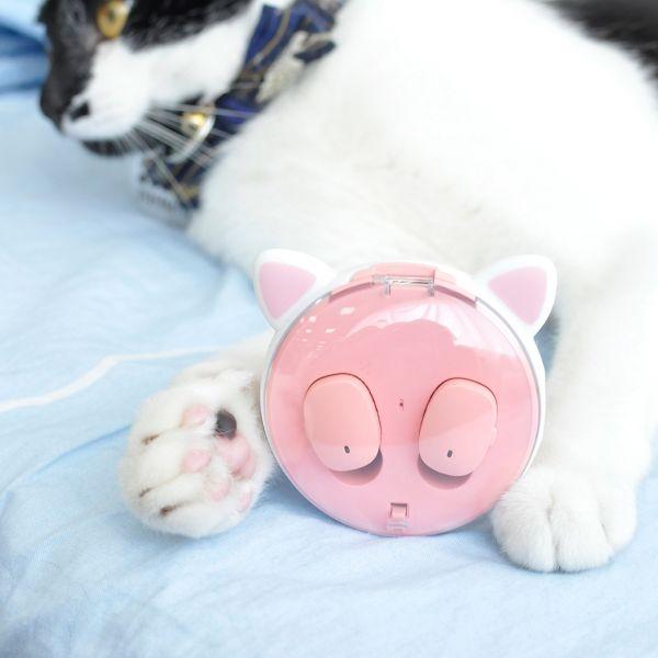 【聽首好歌不受限】貓耳耳機 無線耳機、惡魔耳機、貓耳耳機