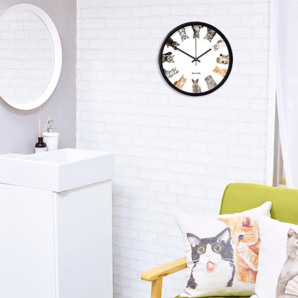 *【抬頭看看喵時鐘】鐘 時鐘、貓掌鐘、貓掛鐘