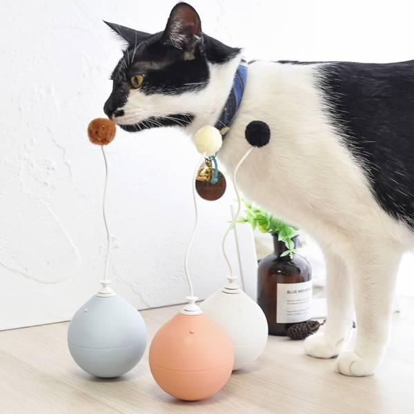 *【不倒翁電動逗貓棒】貓玩具 貓玩具,逗貓