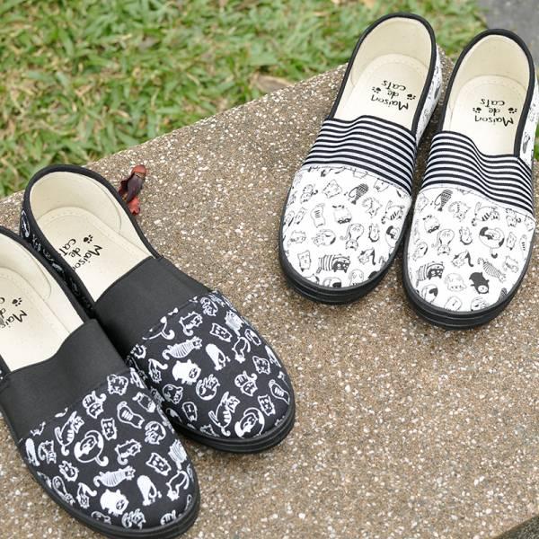 日本進口【懶人專屬萌貓鞋】鞋子