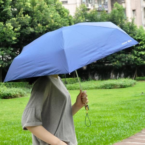 【喵喵幫你擋陽擋雨】歐力貓黑膠遮陽傘